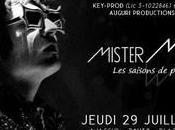 """Mister Mystère"""" concert jeudi soir 21h30 Théâtre Verdure Casone d'Ajaccio"""