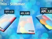 abandonne technologie d'écran amoled Samsung pour SLCD Sony