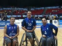 Handibasket Grenoblois médaillés d'argent championnats monde