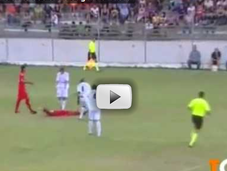 Bagarre entre joueurs lors Cagliari-Bastia