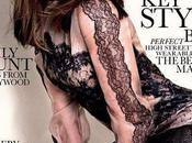 Emily Blunt très sexy dentelles noires, elle pose couverture Elle pour mois Septembre 2010