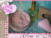 ♥♥-♥♥ parfum,savon crème douche pink sugar