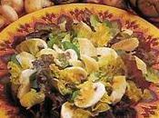 Salade fonds d'artichauts champignons