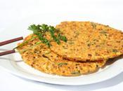 Galettes légumes tofu
