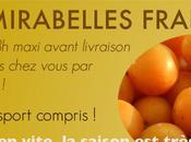 mirabelles fraiches livrees partout France
