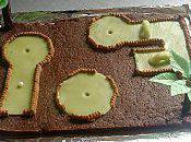 Gâteau mini-golf