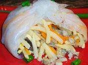 banh cuon, délicieuses bouchées porc légumes (recette d'origine vietnamienne)