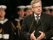 "Komorowski Bruxelles ""N'oubliez Pologne!"""