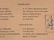 Revue Lettres Arts, Nice 1907-1910