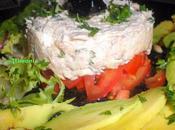 Tartar tomates espuma atun Tartare mousse thon