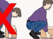 Comment faire pour soulever objets lourds toute sécurité