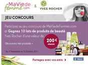 Concours femme yves rocher
