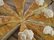 Sandwichs d'omelette abricots fromage frais noix