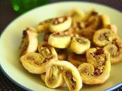 Palmiers pesto noisettes sans gluten