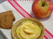 Tartelettes pommes pâte sablée spéculoos