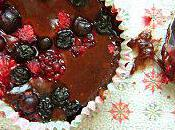 Cupcakes Fondants Fruits Rouges