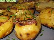 Pommes terre farcies confit canard d'oignons
