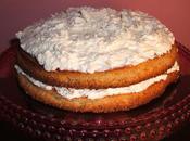 Gâteau l'orange crème chocolat blanc