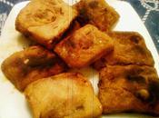 Rghaifs farcis, vermicelle,sauce thon