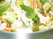 Salade crabe thai