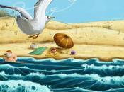 Lilou Pépé Gégé plage