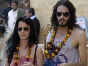 Katy Perry Russell Brand Leur première photo mariés