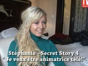 Secret story Interview Stéphanie pour TVMag (VIDEO)