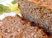Cake noisette farine chataîgne orange confite