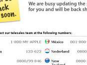 Apple Store sont fermés [MàJ]