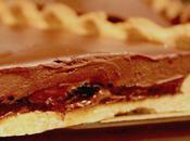 Tarte chocolat marmelade