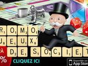 Promotion jeux iPhone d'Electronic Arts (Scrabble, Monopoly, Risk, 0.79€