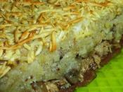 Parmentier gourmand purée pommes terre-ricotta, compotée oignons-champignons, poulet marrons cognac
