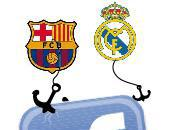 Barcelone/Real Madrid guerre déclenchée Facebook