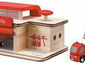 Idée cadeau Noel n°3: caserne pompier bois
