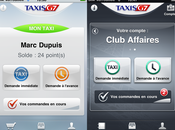 Taxis prioritaires grâce appli depuis l'iPhone