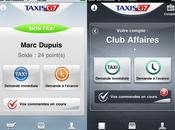 Taxis prioritaires grâce appli depuis l'iPhone