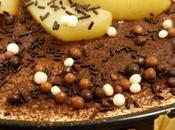 Gâteau chocolat, spéculoos poire pour fêter St-Nicolas