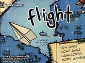 flash Flight l'avion papier