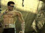 Mortal Kombat Johnny Cage fait beau gosse vidéo