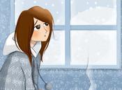 fille trouvait moyen tomber malade juste avant Noël…