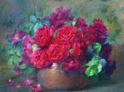 Peindre dessiner flore Partie représentations peintres modernes contemporains