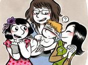 Flo, Marie, Leeloo.