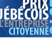 Prix québécois 2010 l'entreprise citoyenne