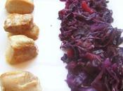 Filet mignon porc compotée chou