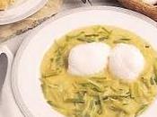 Œufs pochés sauce verte