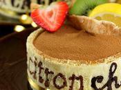 Vingt-huitième participation défis Daring Bakers Bavarois chocolat, citron café
