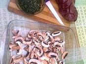 Rognons veau champignons
