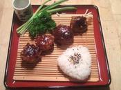 recette Champignons farcis japonaise Shiitake Nikuzume