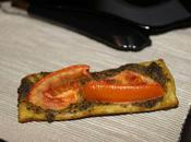 Tartelette salée pesto tomate