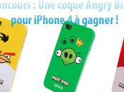 iConcours Gagner coque Angry Birds pour iPhone
